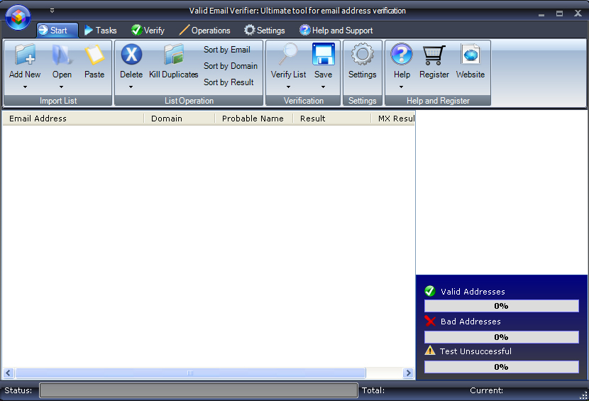 Valid Email Verifier 1.0.1.6